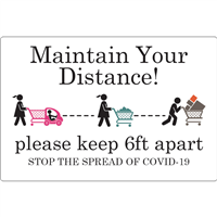 Maintain Your Distance D1