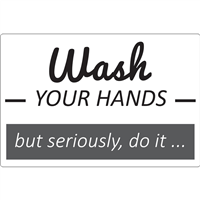 Wash Your Hands Signs D1